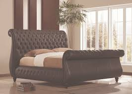 King Upholstered Sleigh Bed Newest Sleigh Bed King Size And Style Marku Home Design