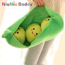 3 peas in a pod 19 7 peas pillow peas stuffed plush doll 3