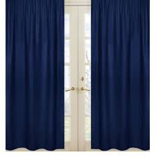 Navy Blue Curtains Buy Navy Blue Curtain Panels From Bed Bath Beyond