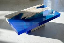 these custom made tables look like the ocean floor airows