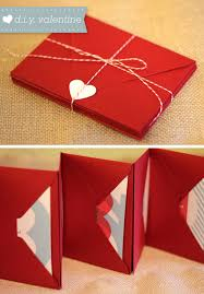 How To Make A Card Envelope - diy valentine u0027s day love coupons envelope book coupons and homemade