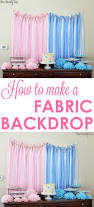 How To Make A Stage Curtain Best 25 Fabric Backdrop Ideas On Pinterest Fabric Backdrop