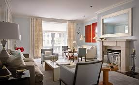 Nina Farmer Interiors Model Living Room At Amli Lex On Orange A Luxury Apartment