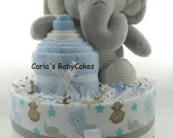 Diaper Cake Decorations For Baby Shower Diaper Cake Etsy