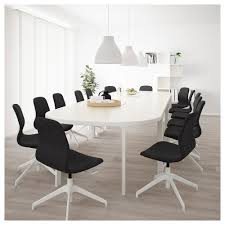 Ikea Bekant Conference Table Bekant Conference Table Black Brown Black Ikea
