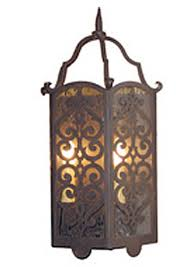 Mission Wall Sconce Iron Wall Sconce Alegre Steven Handelman Wrought Iron Designs