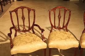 Antique Reproduction Dining Chairs Mahogany Shield Back Dining Chairs Antique Reproductions