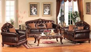 Small Traditional Sofas Italian Leather Sofa Brown Leather Livingroom Furniture Living