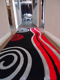 Black And Red Area Rugs by New Black With Floral Red Area Rug Hand Carved Rug Addiction