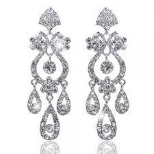 boucle d oreille mariage d inspiration vintage ces bijoux de mariée élégants ont une