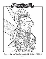 tinkelbell pirate fairy coloring pages coloring home