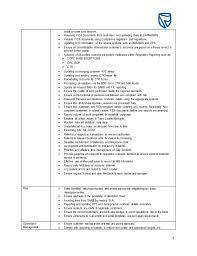 standard bank job description template regulatory reporting