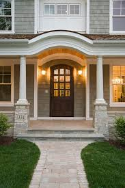 How To Refinish An Exterior Door The Easy Way by Best 25 Stained Front Door Ideas On Pinterest Entry Doors Wood