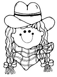 lovely cowgirl coloring pages 77 coloring kids cowgirl
