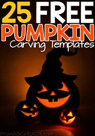 halloween pumpkin carving templates jack o u0027 lanterns made easy 25 free pumpkin carving templates