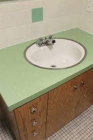 kate u0027s 1960s green bathroom remodel u0027lite u0027 before and after
