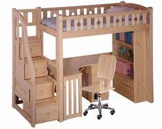Bunk Bed Desk 1000 Ideas About Bunk Bed Mesmerizing Free Loft Bed With Desk
