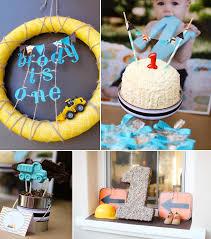 1st birthday boy themes kara s party ideas construction truck themed 1st birthday party