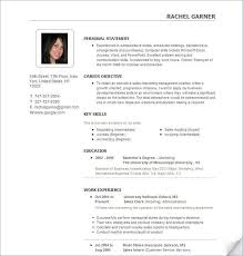 Chief Marketing Officer Resume Chronological Resume Layout Chronological Resume Template