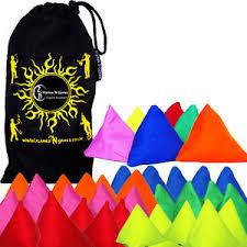 tri it pyramid juggling bean bags set of 5 bag juggling