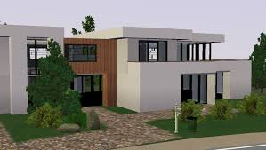 Maison De Luxe Americaine by Sims 3 Modern Moderne House Maison 2 Youtube