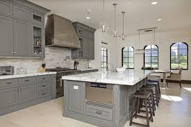 light gray kitchen cabinets with marble countertops sefa llc on modern country kitchen model