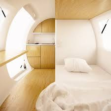 ecocapsule is a portable completely self sustaining home that 4 solar powered ecocapsule