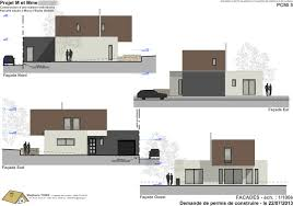 facades cuisine plan facade maison moderne de cuisine design con 10m modernes