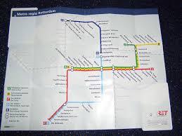 rotterdam netherlands metro map transport system in rotterdam the metro rotterdam