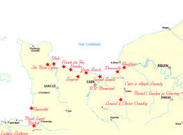 Carcassonne France Map by Normandy Map Main Sites France Just For You