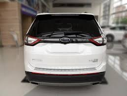ford edge accessories cap car gas tank cover sticker for ford edge fuel door lid