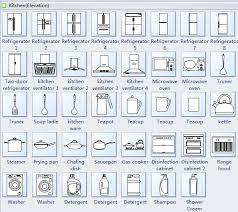 Floor Plan Electrical Symbols Elevation Diagram Symbols