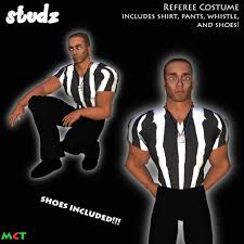 Ref Costumes Halloween Marketplace Td Referee Halloween Costume
