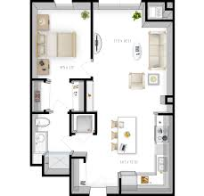 Studio Plans by Floor Plans