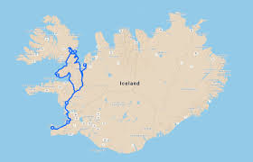 Iceland On Map Self Drive Vacation In Iceland Nordika Travel