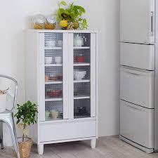 kitchen storage cabinets with glass doors interior palette rakuten global market kitchen storage glass