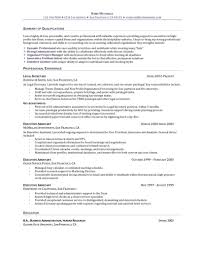 Sample Resume For Legal Assistant by Administrative Support Resume Resume For Your Job Application