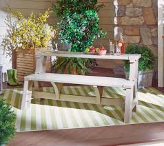 Interesting Composite Outdoor Furniture U2014 Convert A Bench Basic Color Outdoor 2 In 1 Bench To Table W 5 Year