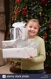 usa illinois metamora 6 7 holding stack of christmas