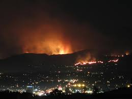 Wildfire Winters California by Santiago Fire Wikipedia