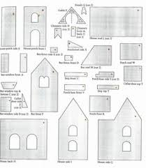 pattern for large gingerbread house 17 free printable diy paper houses free lantern houses