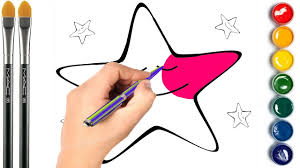 stars coloring page learn colors for kids youtube