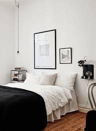 Black And White Bed 352 Best Scandinavian Designed Bedrooms Images On Pinterest