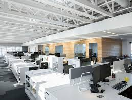 Cool Office Lighting Cool And Sustainable Offices Stgm Architect U0027s Head Office In