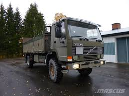 used volvo heavy duty trucks sale used volvo fl10 4x4 flatbed dropside year 1993 for sale