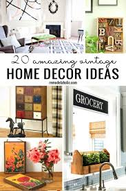 Awesome Home Decor Ideas Vintage Home Decor Ideas At Best Home Design 2018 Tips
