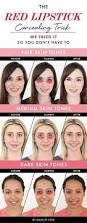 the red lipstick concealing trick we tried it so you don u0027t have to