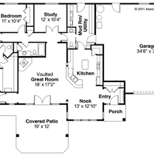 ranch house floor plans open plan floor ranch house plans open plan style with simple home 4