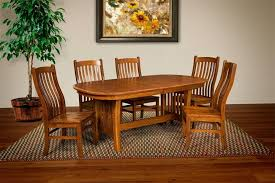 Mission Style Dining Room Tables - arts and crafts dining room furniture mission style dining table