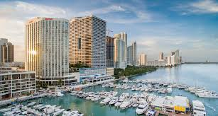 Car Rentals At Port Of Miami Miami Florida Downtown Hotel Near Port Miami Marriott Biscayne Bay